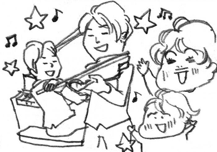 子連れのクリスマスコンサート。「めっちゃ楽しかった!」