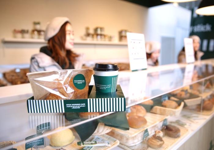 人気のパンとカフェオレが無料。今週末は二子玉川へ!