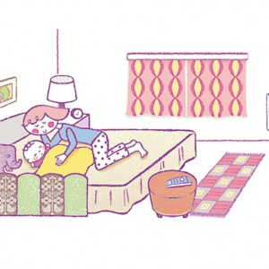 <span>0・1・2 歳向け</span> 子どもの寝つきがよくなる、5つの条件