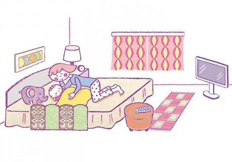 子どもの寝つきがよくなる、5つの条件