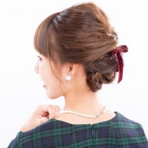 <span>mama's BEAUTY</span> 簡単にできる! 編み込み風おでかけヘア