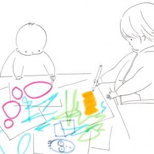 <span>山本祐布子の「子どものいる風景」</span> 想像力を育むために、どんなきっかけを作ったらよいだろう