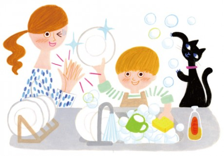 子どもの「お手伝いしたい!」の気持ち、忙しいときはどう応える?