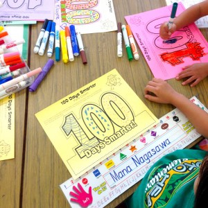<span>Dayz with 3 KEIKI</span> ハワイの小学校、100日目のアロハなお祝い!