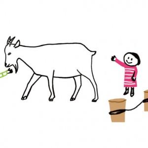 <span>0・1・2 歳向け</span> おすすめはヤギ。子どもと動物が楽しくふれあえるポイント
