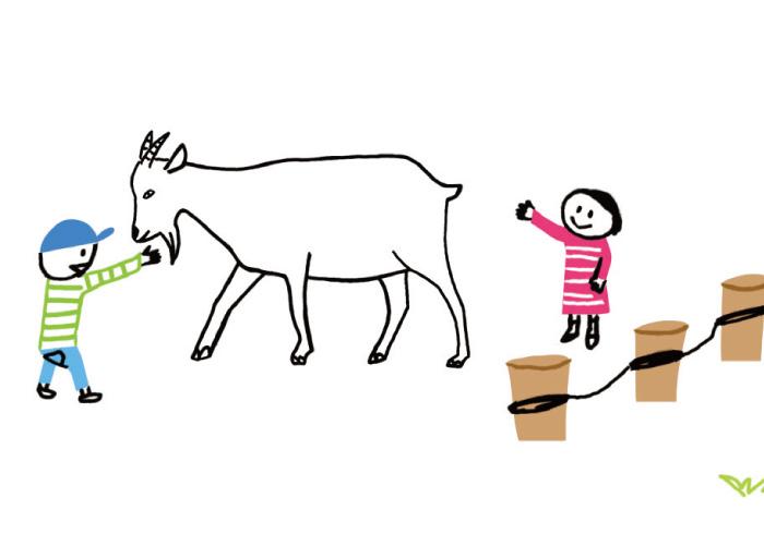 おすすめはヤギ。子どもと動物が楽しくふれあえるポイント
