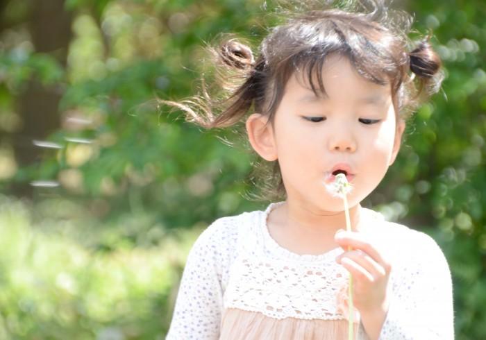 1年でいちばん可愛く撮れる! 春のふんわり子ども写真。