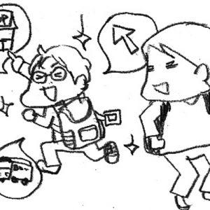 <span>カツヤマケイコの絵日記</span> 息子と、行きあたりばったりのおでかけをした理由
