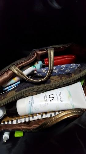 バッグにいつも忍ばせています。