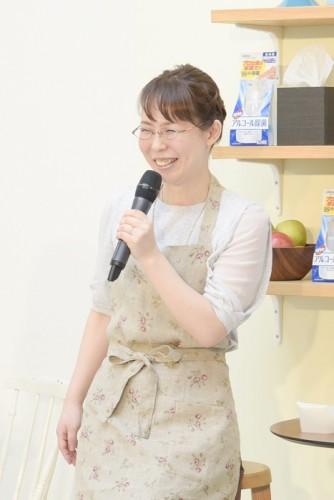 知的家事プロデューサー・本間朝子先生。