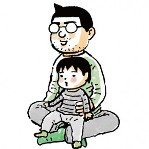 <span>絵本特集◯web特別企画</span> あのパパは何を読み聞かせている?【漫画家・吉田戦車さんの場合】