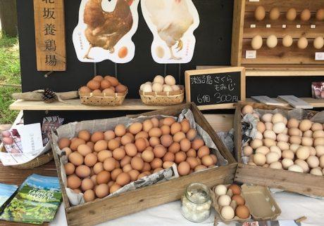 「神戸のおいしいもの」がずらりと並ぶ。ファーマーズマーケット