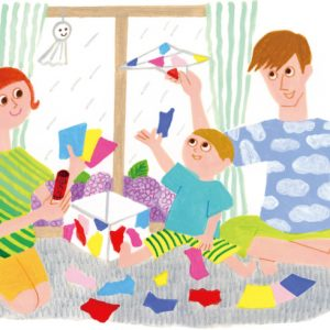 <span>時短ラボ</span> 雨の日に大活躍! 家にあるものでできる簡単おもちゃ3つ