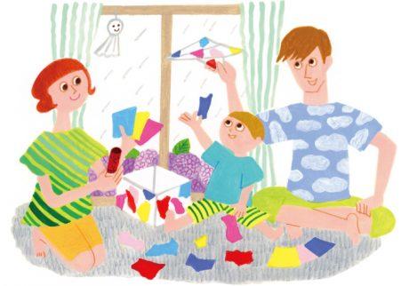 雨の日に大活躍! 家にあるものでできる簡単おもちゃ3つ