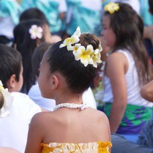 "<span>Dayz with 3 KEIKI</span> ハワイの文化に心から感謝する""LEI DAY""が楽しい!"
