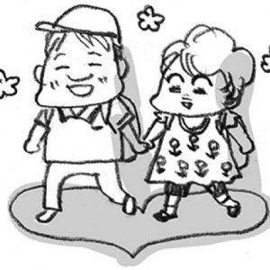 <span>カツヤマケイコの絵日記</span> 娘のフィアンセ!? 小さな紳士、玲君のこと
