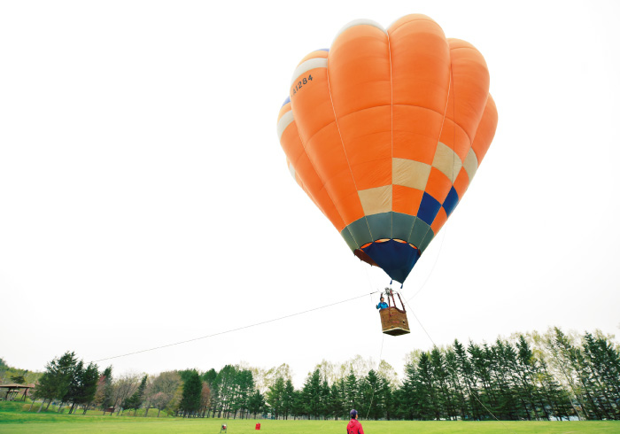 <span>北海道・十勝特集2</span> 日本一広い牧場に、気球体験。この夏は十勝へ!