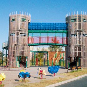 <span>公園特集1</span> 砦のようなタワー!? 大型遊具がすごい公園3つ