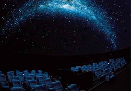 しまじろうと巡る星空探検など、子ども番組が充実しているプラネタリウム