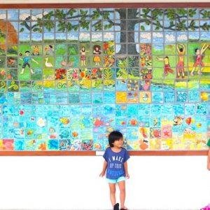 <span>Dayz with 3 KEIKI</span> ハワイ公立小学校の壁画に宿る、アロハスピリットとは?
