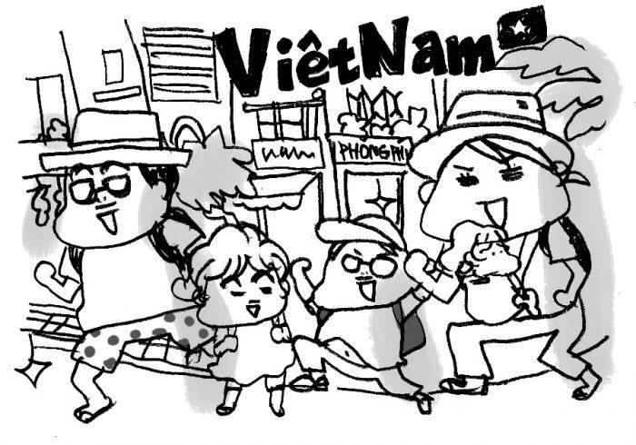 子連れでベトナム旅行。暑さは?屋台は?パクチーは大丈夫?