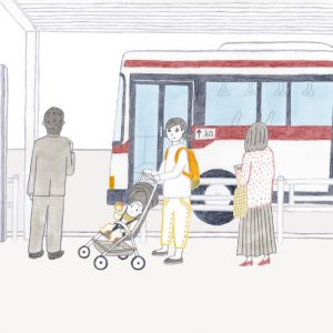 <span>0・1・2 歳向け</span> 知ってた? ベビーカーでバス移動するときの基本ルール