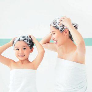 子どもができたらシャンプーが変わった! 親子でやさしく洗えるメリット、大好き♪