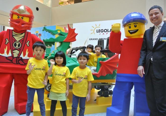 日本初のテーマパーク、「レゴランド・ジャパン」が来春、名古屋にオープン!