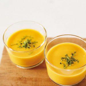 <span>LET'S PARTY COOKING</span> かぼちゃのスープ【キッズと作るパーティレシピ・3】