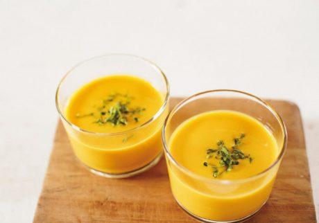 かぼちゃのスープ【キッズと作るパーティレシピ・3】