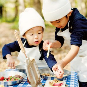 <span>お外で作るごはんは最高!</span> 【外ごはんレシピ・2】デザート ホットサンド