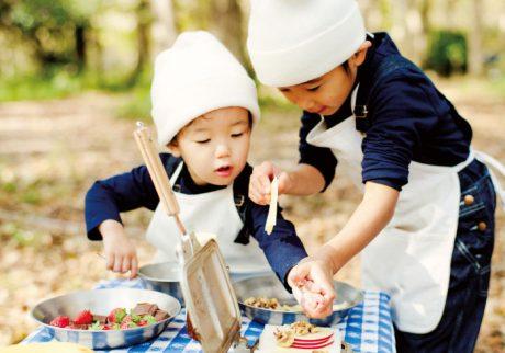 【外ごはんレシピ・2】デザート ホットサンド