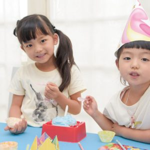 <span>パーティねるねる×Hanakoママ</span> 子どもたちがびっくり!の理由は? 新しいねるねるねるね