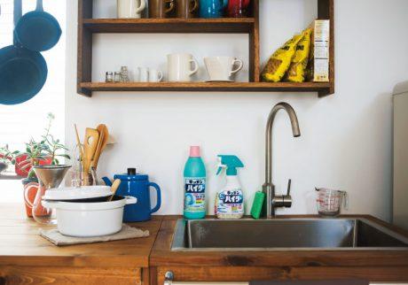 油断できない、冬場のキッチン周り。菌対策の頼れる相棒は?