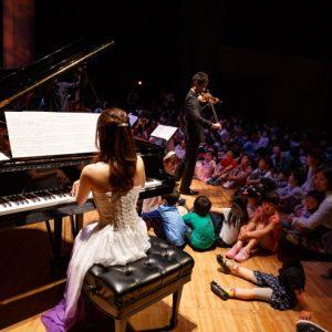 <span>プレミアムコンサートfor Kids 3</span> 演奏者の足元で聴ける音楽会。プレミアムコンサート