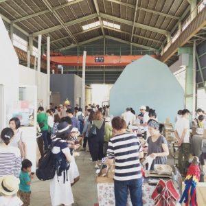 <span>おでかけニュース【埼玉】</span> こだわりのマーケット。開催地の天井がここまで高い理由は?