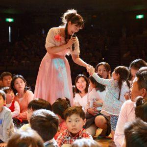 <span>プレミアムコンサートfor Kids 1</span> 「Hanakoママを見た!」と言ってね。プレミアムコンサート