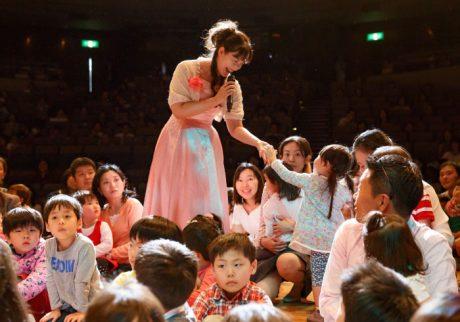 「Hanakoママを見た!」と言ってね。プレミアムコンサート