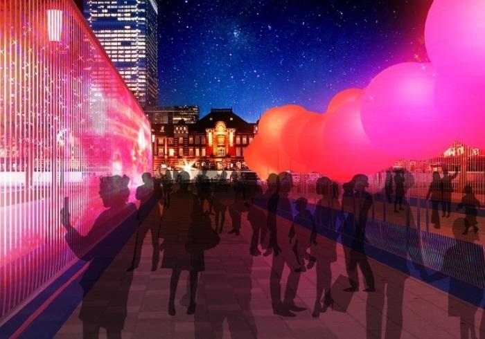 クリスマスから5日間限定。東京・丸の内エリアのイルミネーション
