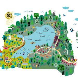 <span>おでかけニュース【埼玉】</span> オープンが待ち遠しい! 北欧とムーミンのテーマパーク「メッツァ」