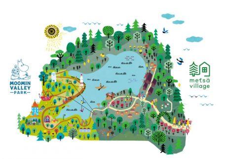 オープンが待ち遠しい! 北欧とムーミンのテーマパーク「メッツァ」