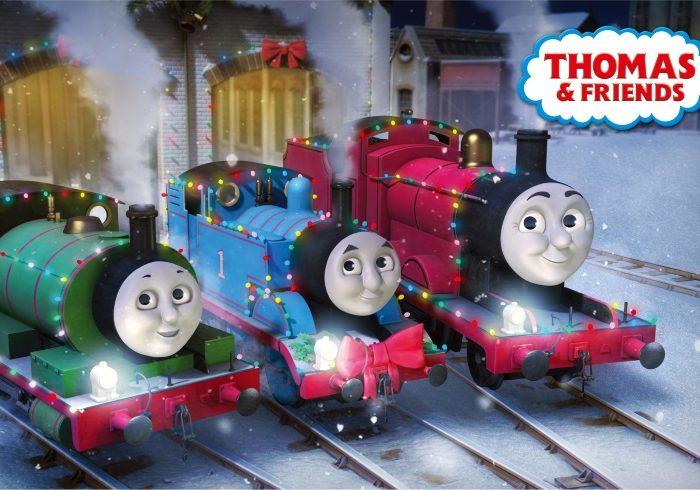 今週末の予定に。クリスマスバージョンのトーマス