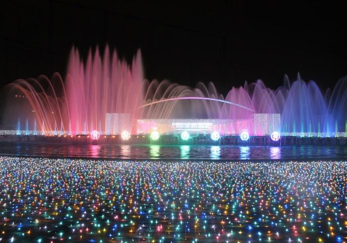 宝石のような輝き。7種類25色のジュエルミネーション