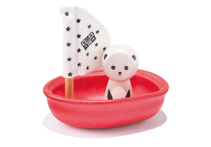 お風呂が楽しみ。親子で遊べるパンダのおもちゃ