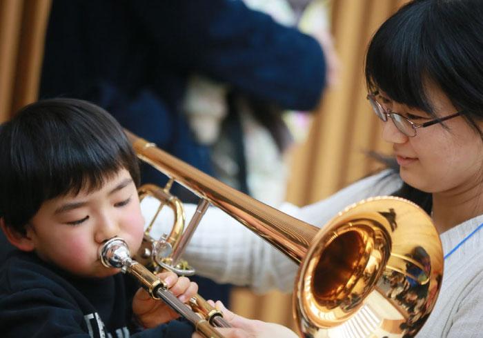 本物の音に触れる。日本フィルのキッズ・コンサート