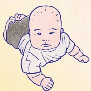<span>藤田あみいの「懺悔日記」・10</span> 汗疹がよくならない。もう何が正解なのやらわからない【懺悔日記・10】