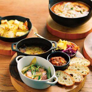 <span>子連れでママ会特集・4</span> 鍋や大皿をシェアして楽しむ。自由が丘でママ会ならこの店!