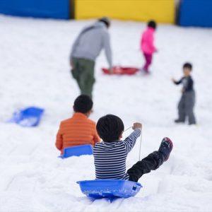 <span>おでかけニュース【神奈川】</span> 日帰りでたっぷり遊べる。都心近くで雪遊びを満喫!【親子のおでかけ・神奈川】