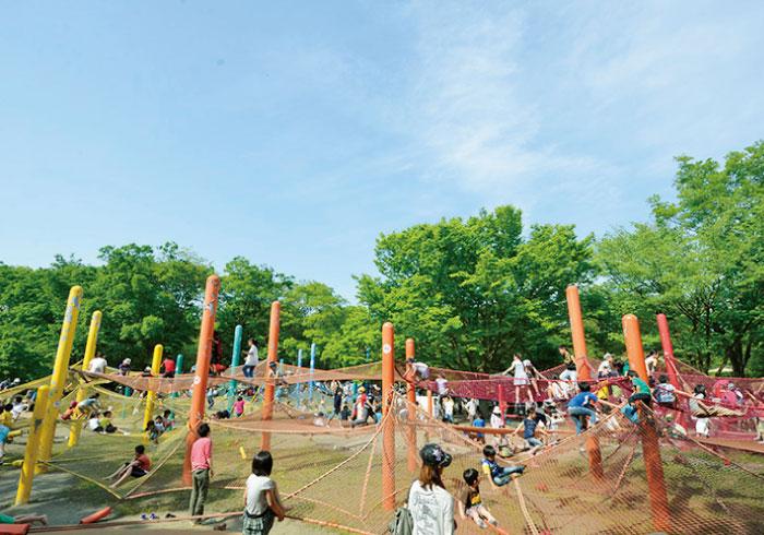 パパと出かけよう! 大型遊具&アスレチックのある公園【東京都】