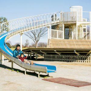 <span>パパと行くから楽しい公園・4</span> パパと出かけたい。長ーいすべり台のある公園【東京】